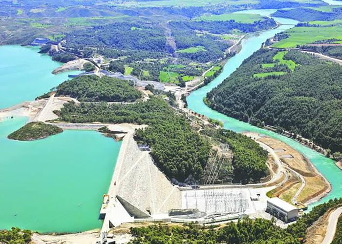 projelerimiz sanibey barajı hidroelektrik santrali sanibey dam & hydroelectric plant