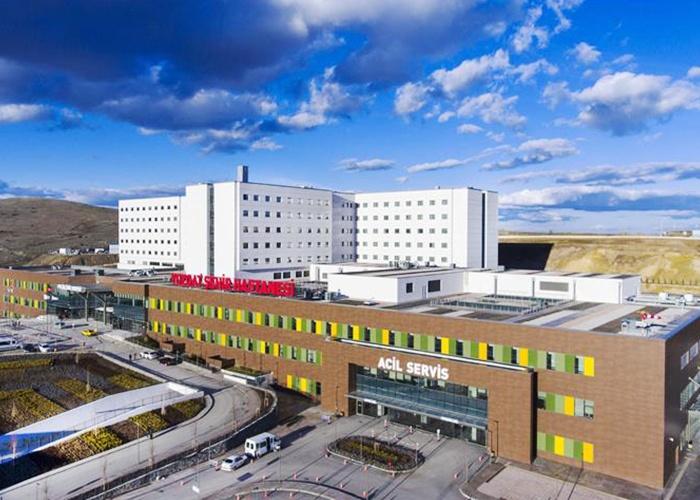 yozgat şehir hastanesi enerji etüdü yozgat city hospital energy audit