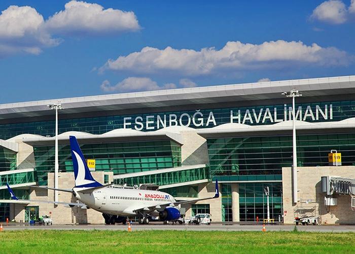 Esenboğa Havalimanı Atölye Binası, Esenboga Airport Workplace Building